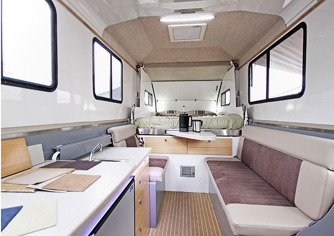 Plan your family trip now with the caravan