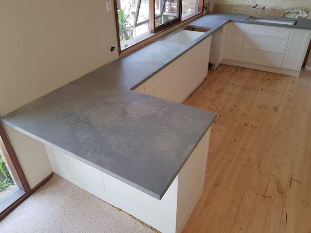 Rich look of Caesarstone kitchen benchtops