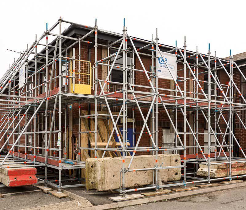 hoarding & scaffolding in Sydney