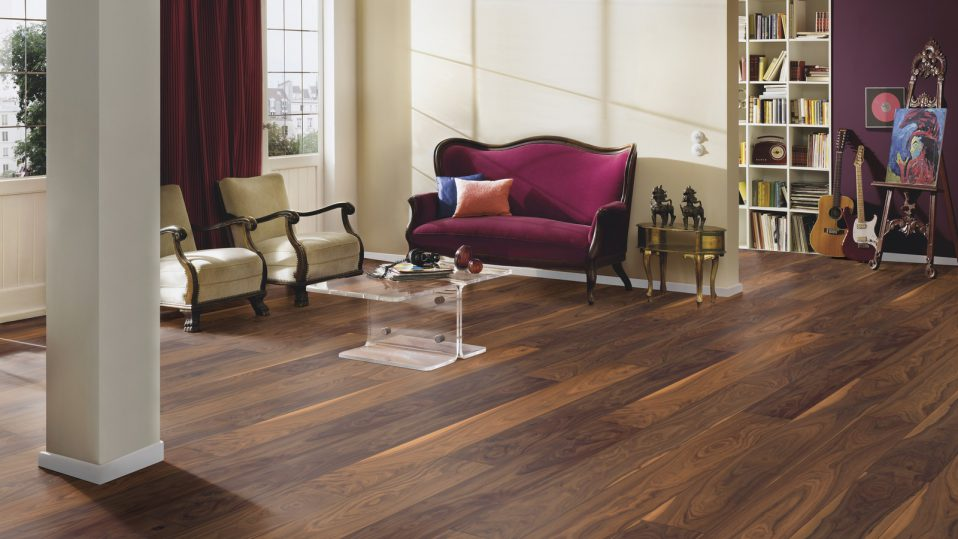 Timber Floorin Easy to install and clean