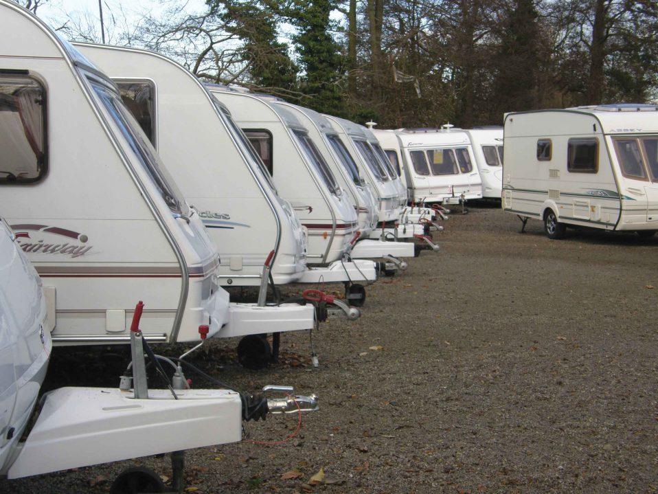 cheap second hand caravans for sale
