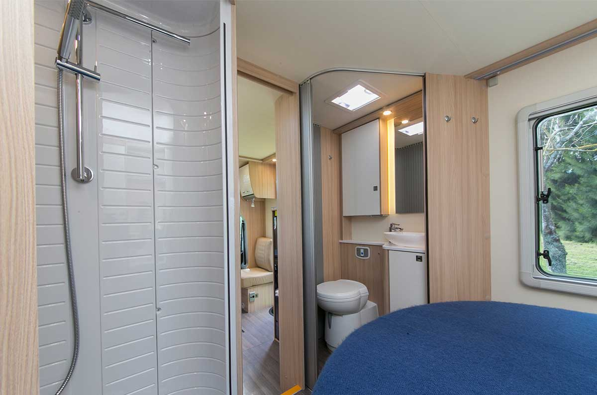 buy small off road caravan with shower and toilet