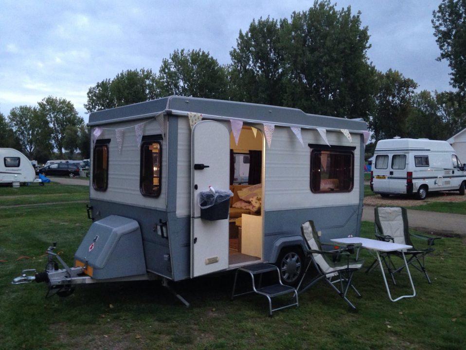 different pop-up caravans for sale