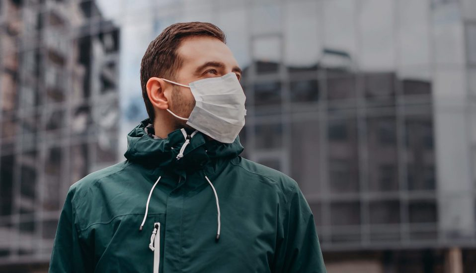 Face masks are better protection. Material choice and size selection are important. Random choices may never be ideal. Select one that will offer the best protection.