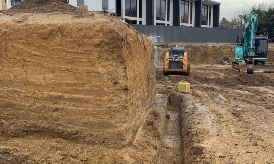 detailed excavation