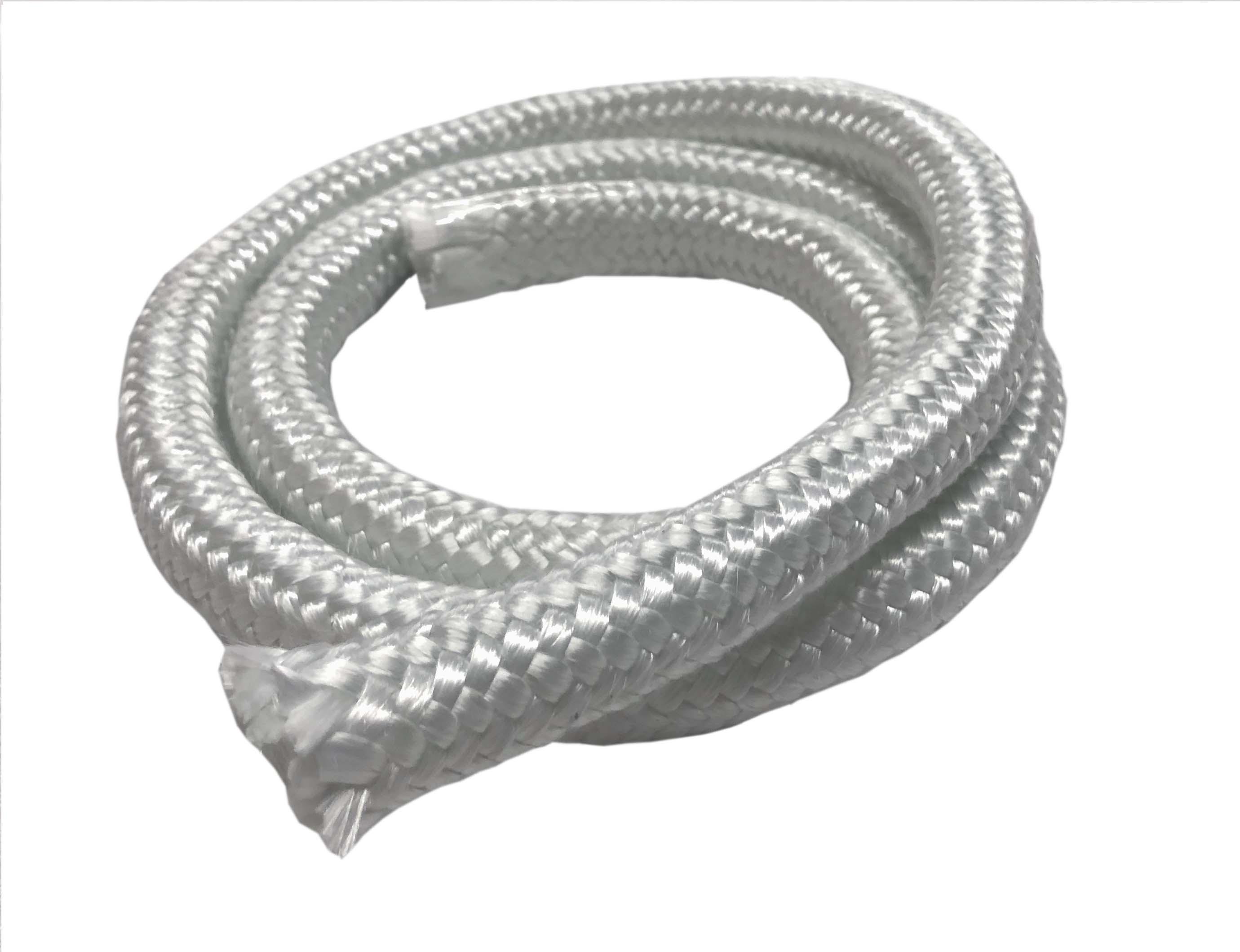 fiber glass braded rope