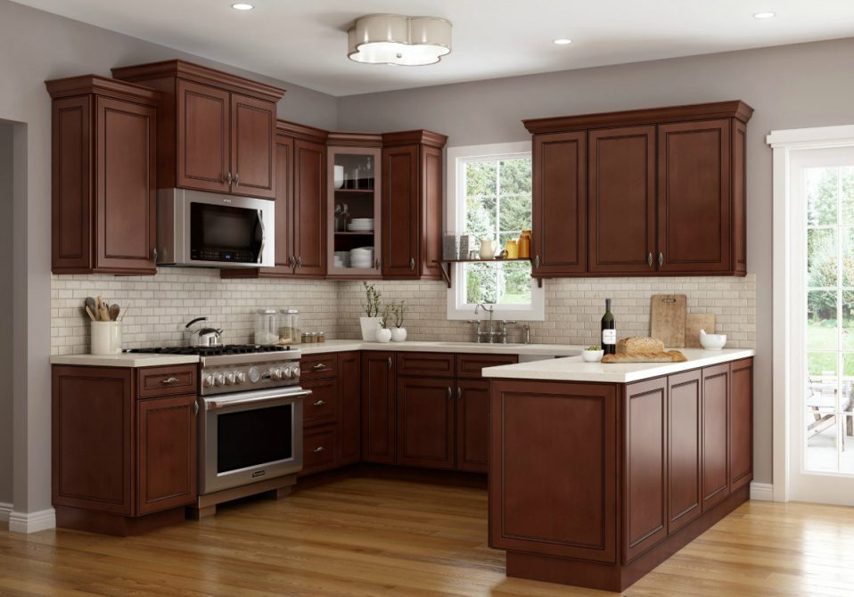 assemble kitchen cabinets